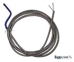 Трос 8 мм для прочистки канализации 2,5 метра