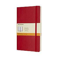 Блокнот Moleskine Classic Красный Средний 192 страницы в Линейку Мягкая обложка (13х21 см) (8055002854634)