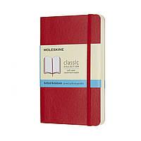 Блокнот Moleskine Classic Красный Карманный 192 страницы в Точку Мягкий (9х14 см) (8055002854627), фото 1