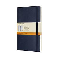 Блокнот Moleskine Classic Сапфир Средний 192 страницы в Линейку Мягкая обложка (13х21 см) (8055002854740), фото 1