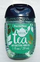 Санитайзер- антибактериальный гель для рук bath & body works Green Tea
