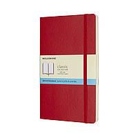Блокнот Moleskine Classic Красный Средний 192 страницы в Точку Мягкая обложка (13х21 см) (8055002854665), фото 1