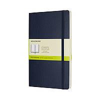 Блокнот Moleskine Classic Сапфир Средний 192 страницы Нелинованный Мягкая обложка (13х21 см) (8055002854757), фото 1