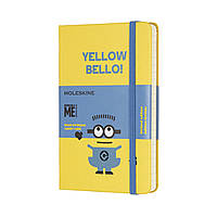 Блокнот Moleskine Limited Minions Карманный 192 страницы Желтый в Линейку (9х14 см) (8055002855365), фото 1