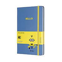 Блокнот Moleskine Limited Minions Средний 240 страниц Голубой в Линейку (13х21 см) (8055002855396), фото 1