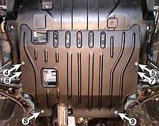 Защита двигателя Chevrolet Captiva 4x4 (2007-2010) Полигон-Авто