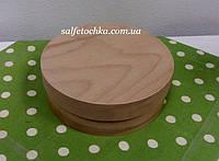 Круглая коробка шпон (180*60мм.)