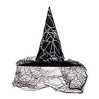 Шляпа ведьмы с вуалью