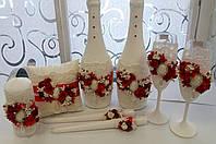 Шампанское, свадебное шампанское, свадебные бокалы, свадебные свечи, пригласительные, бокалы