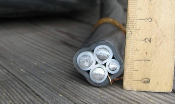 Кабель силовий алюмінієвий монолітний АВВГ 3х35+1х16 ГОСТ, фото 2