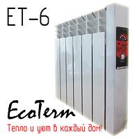 Электрическая батарея EcoTerm ET-6 (6 секций)