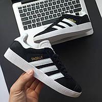 Женские кроссовки Adidas Gazelle Black
