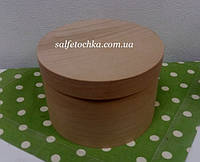 Круглая коробка шпон (180*120мм.)