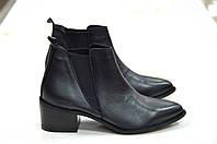 Кожаные ботинки челси черного цвета Roberta Lopes к.1685, фото 1
