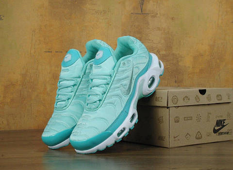 ... Кроссовки Nike Air Max Tn+ 1 Satin Pack Бирюзовые. Топ качество! 761ab44b23ce7