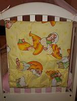 Навесной карман на детскую кроватку