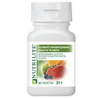 Концентрированные фрукты и овощи NUTRILITE Объем/Размер: 60 таб.