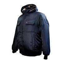Мужская зимняя куртка Tomy Montana (50) темно-синяя ТМ-08