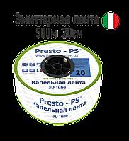 Капельная лента эмиттерная  3D 0,18мм /500м/ 20см, фото 1