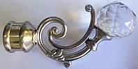 Бордо с кристаллом д. 25 мм, сталь