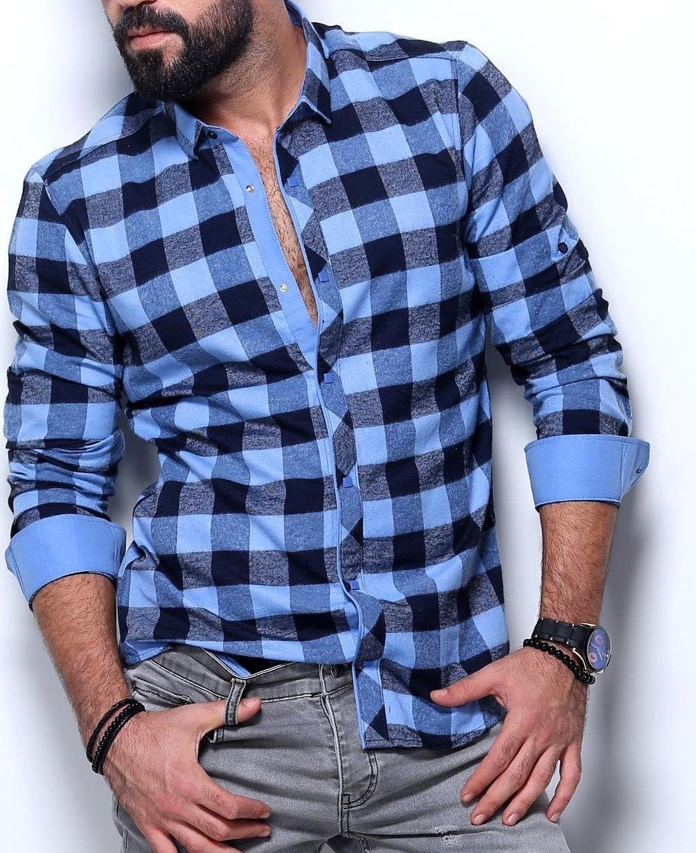 Рубашка на байке для мужчин