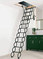 Металлическая раздвижная чердачная лестница FAKRO OST-B 120х60