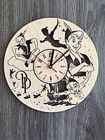 Детские настенные часы из дерева «Питер Пэн», фото 1