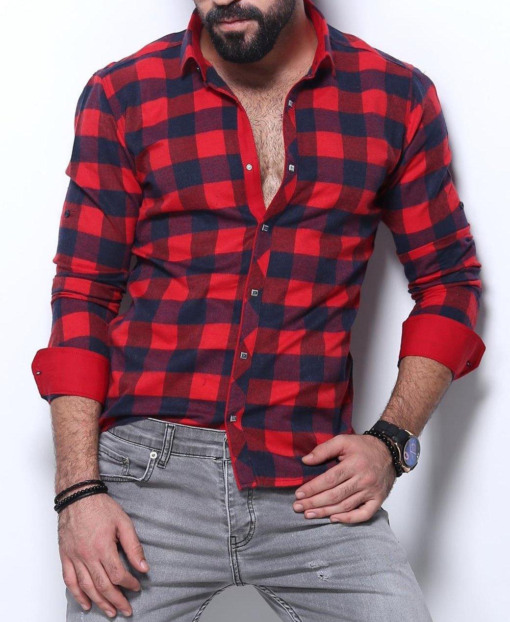 Рубашка на байке для мужчин, фото 1