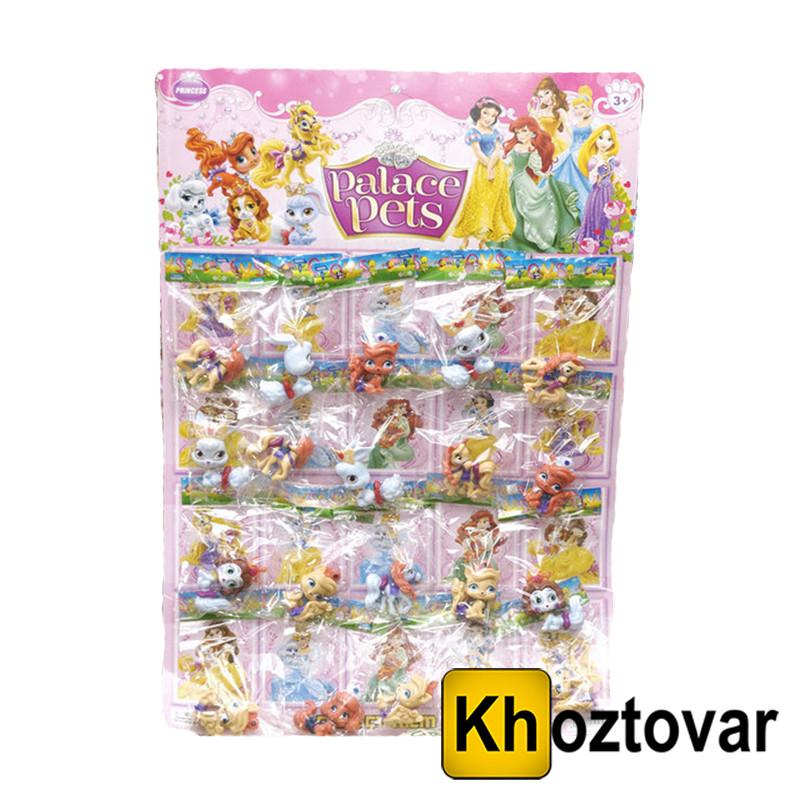 """Набор фигурок для детей от 3 лет """"Королевские питомцы принцесс"""" Princess Palace Pets"""