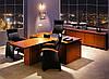 Стол для руководителя прямой шпон Магнум, фото 3