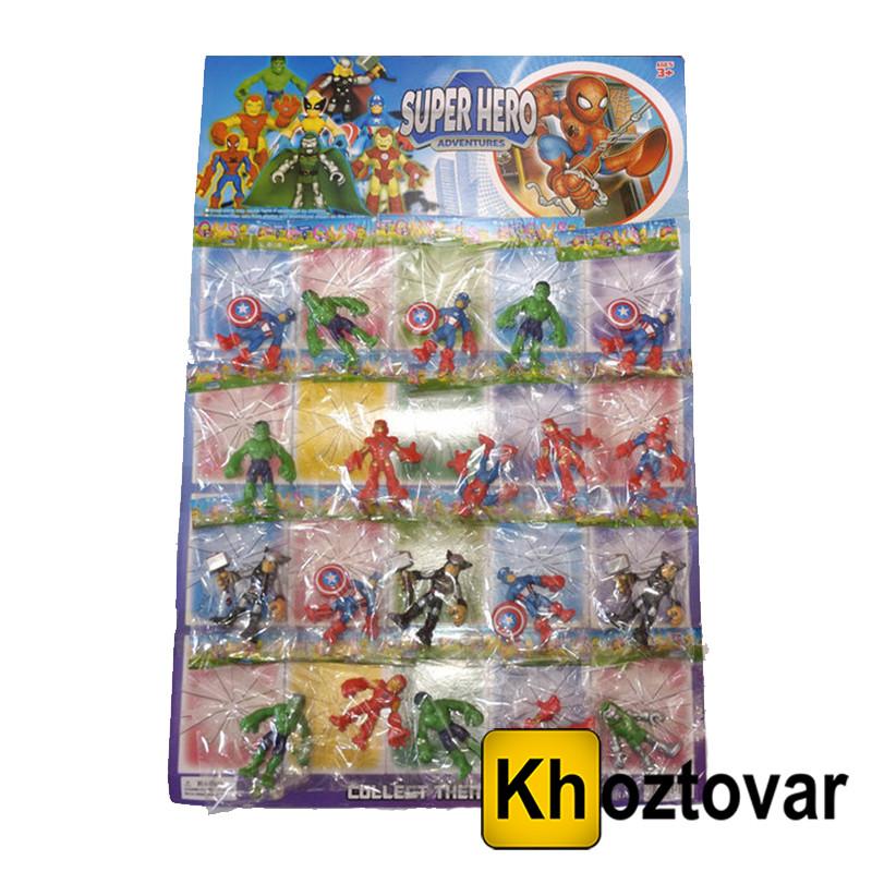 """Набор игрушек для детей от 3 лет """"Супер-герои"""" Super Heroes Adventures"""