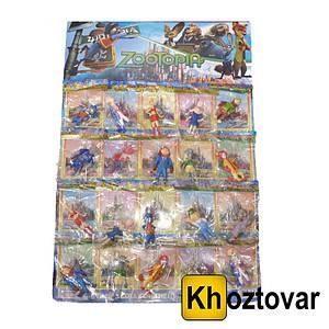 """Набір фігурок для дітей від 3 років """"Зверополис"""" ZooTopia Kit №1"""