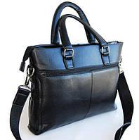 Мужская сумка-портфель. Мужской портфель. Стильный портфель., фото 1