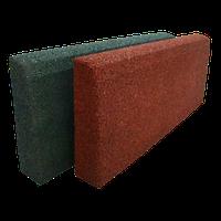 Резиновый бордюр ТМ «УкрПлит» 500 х 210 мм, толщина 50 мм