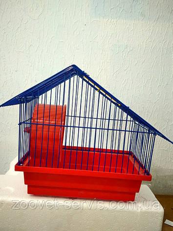 Клетка для хомяков Хатинка, фото 2