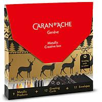 Набор Caran d'Ache Creative Box (9 шт. + 12 листовок)
