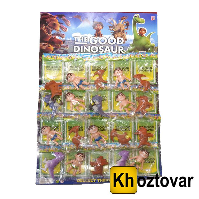 """Коллекция фигурок для детей от 3 лет """"Хороший Динозавр"""" The Good Dinosaur"""