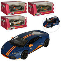 "Машина металл ""KINSMART"" КT 5401 W Lamborghini Huasan LP610-4AVIO"