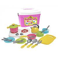 """Детский набор посуды  """"Кухонный набор-8"""" 2407 """"ТехноК"""""""