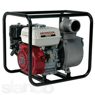 Бензиновая мотопомпа Honda WB30XT DRX (66 куб.м/час)
