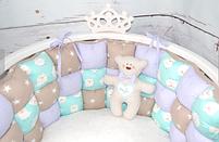 Бортики для круглой и овальной кроватки, фото 2
