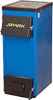 Spark-18П - котел твердотопливный с плитой для еды. Сделано в Украине.