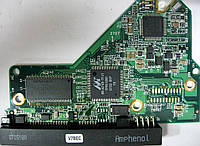 Плата HDD 320GB 7200 SATA2 3.5 WD WD3200AAJS-55RYA0 701444-003