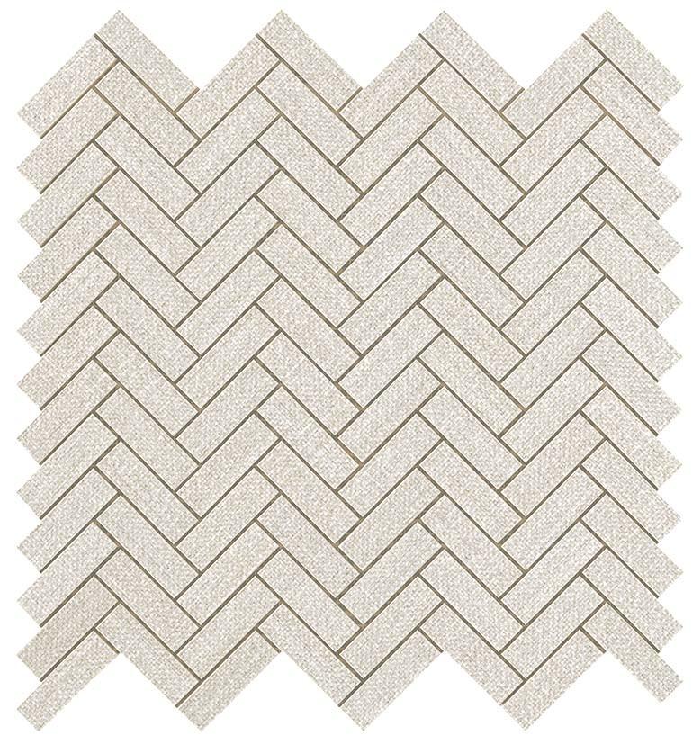 Мозаика Atlas Concorde Room White Herringbone Wall