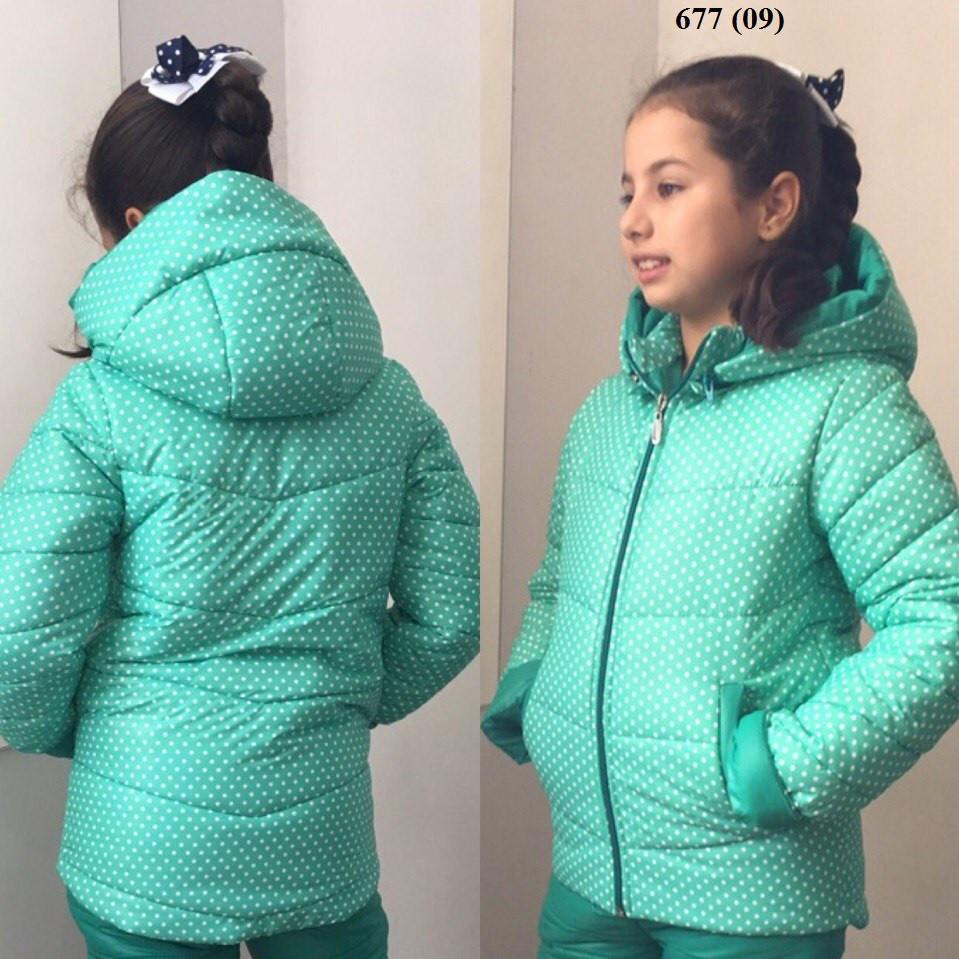 Куртка теплая на девочку 677 (09), фото 1