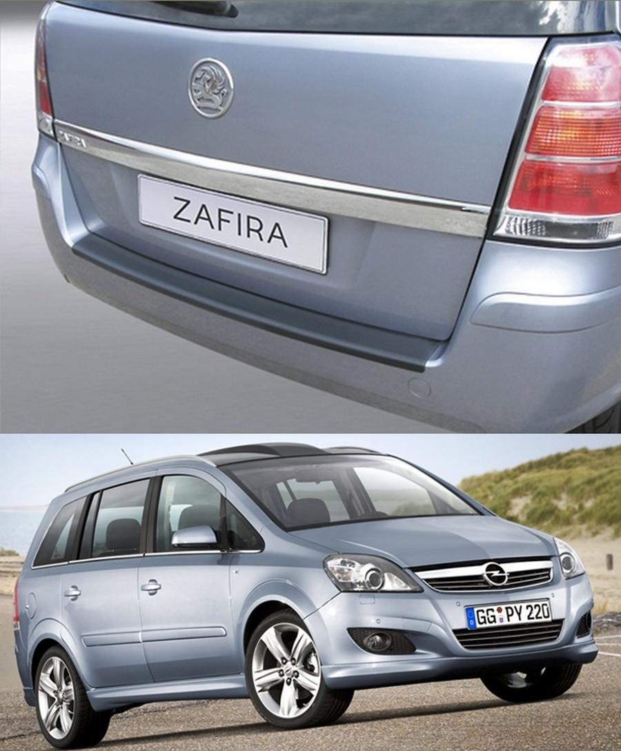 Накладка заднего бампера Opel Zafira B 2005-2014