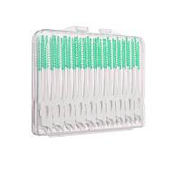 Набор ( 40 штук) Зубочисток-щеток, Ершики для чистки межзубных промежутков