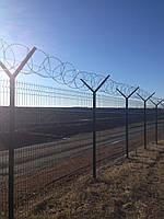 Секционный забор (3D панель) 1400х2500