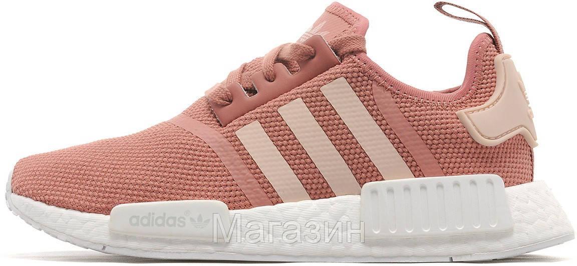 on sale d41b8 dc5e5 Женские кроссовки Adidas NMD Runner Womens Pink/White (в стиле Адидас НМД)  розовые