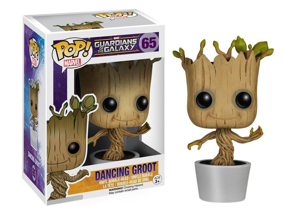 Фигурка танцующий Грут Groot Стражи Галактики Guardians of the Galaxy Funko Pop